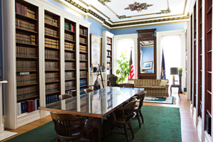 Shutt Mansion Library